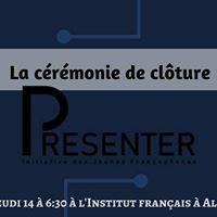The Presenter17  Crmonie de Clture
