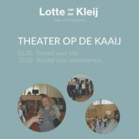 Theater Workshops op De Kaaij 2017