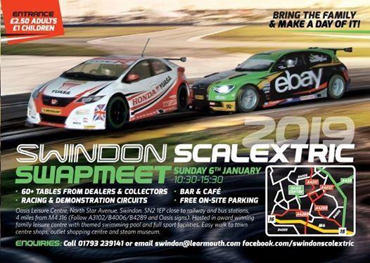 Swindon Scalextric Swapmeet 2019