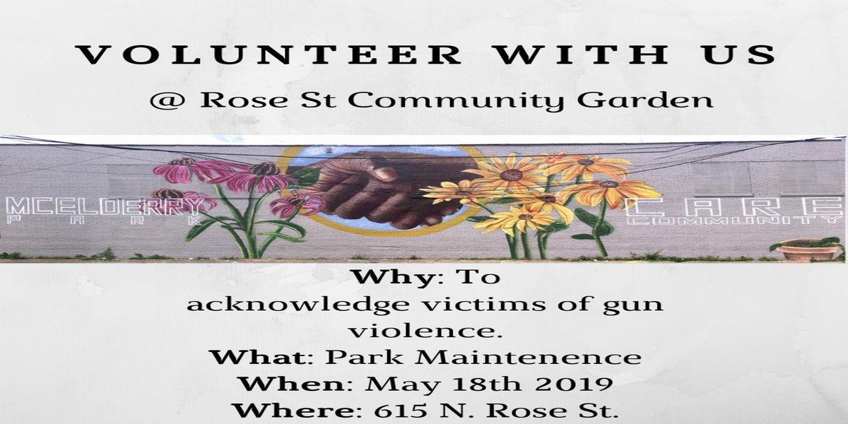Arts  Parks Volunteer Event