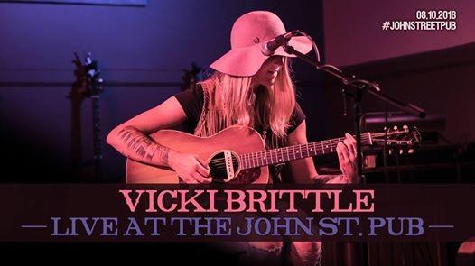 Vicki Brittle Live at The John St. Pub