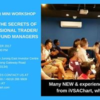 IVSAChart Mini Workshop - Sept 28th at Jurong Gateway SG