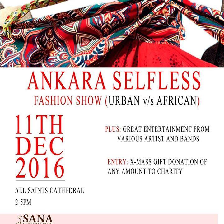 Ankara Selfless Fashion show