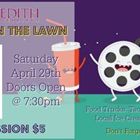 Merediths Movie on the Lawn