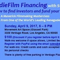 IndieFilm Financing Masterclass with Steve Balderson
