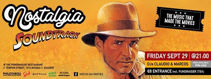 Nostalgia Soundtrack Party The Powerhouse