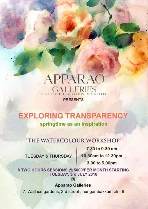 ART CLASS - The Water Colour workshop