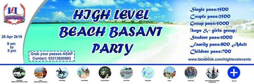 Beach Basant Party