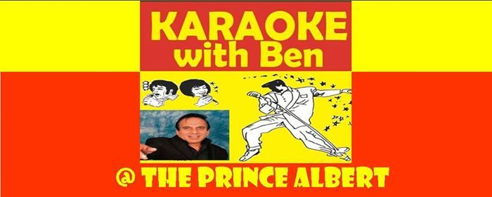 Karaoke With Ben (aka Indian Elvis Johnny Cash Patel)