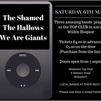 Live Band Night- raising funds for Willen Hospice