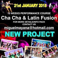 January 2018 - Cha Cha &amp Latin Jazz Fusion 10 Week Course