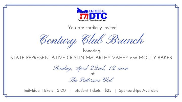 Century Club Brunch at The Patterson Club, Fairfield