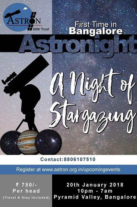January Astronight18 at Bangalore