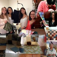 Medford COA Senior Center Quilting By Touch Group Session