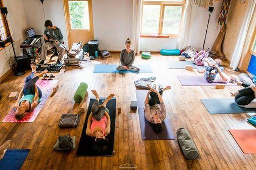 Yoga in klankbad