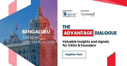 TAD 2019 Bengaluru - insights & signals for CXOs & Founders