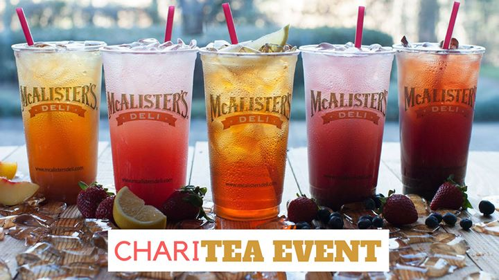 McAlisters Geneva ChariTea Event for MillCreek Elementary School
