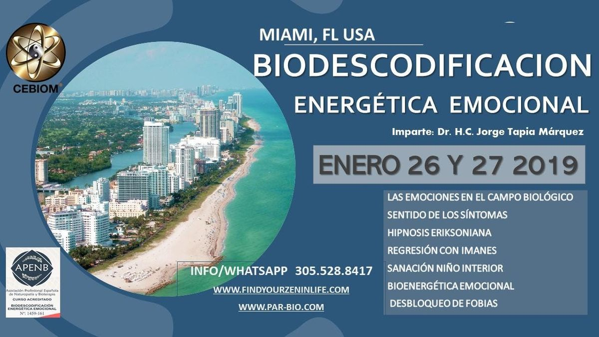 Biodescodificacion Energetica Emocional at Buena Vibra Center, Doral