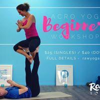 Acro Yoga Beginners Workshop