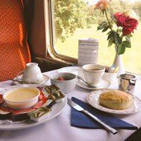 On-Train Afternoon Cream Tea