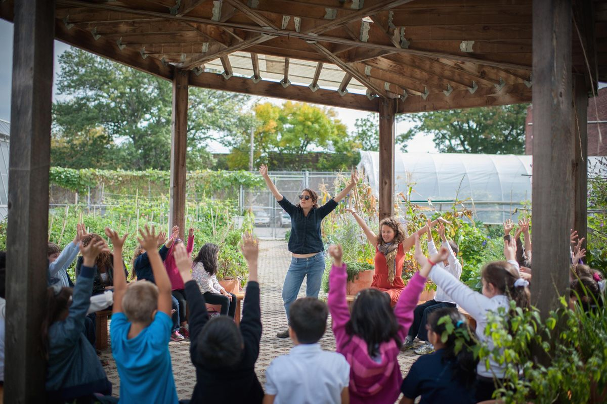 Stories Songs and Sensory Exploration Early Childhood (PK-2) in the Garden