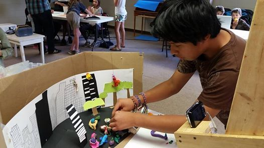 Stop Motion Animation Summer Camp