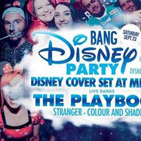 Bang  Disney Party  Free Mickey ears  Disney covers live