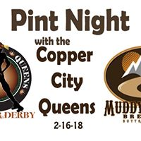 Pint Night with the Copper City Queens