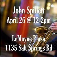 Jazz at the Plaza John Spillett