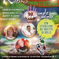 La Fazenda venerd 2209 Noche Latina e 40 compleanno Wendy