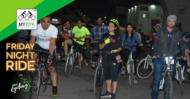 Friday Night Ride with MYBYK Cycling - Jan 12