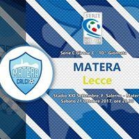 10 giornata Serie C girone C Matera - Lecce