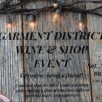 Garment District Wine &amp Shop Event