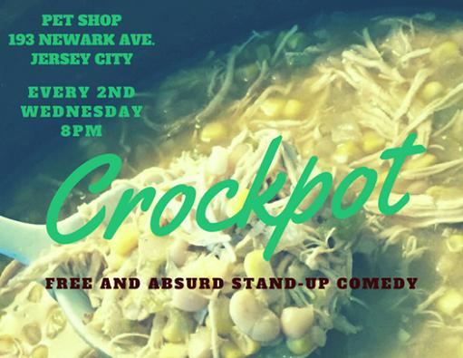 Crockpot Stand-Up at Pet Shop JC