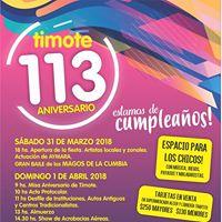 113 Aniversario de Timote