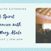 Music &amp Spirit Blessing Service with Reverend Mary Abele