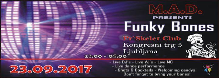 Premierno MAD Funky House  Sobota 23.9.2017