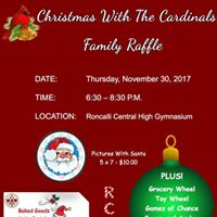 Roncalli Central High School Annual Christmas Raffle