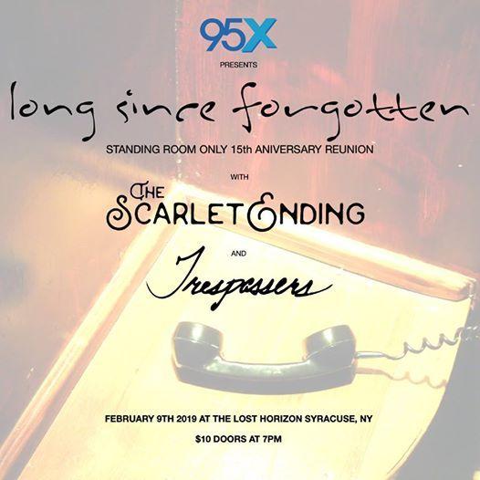 Long Since Forgotten The Scarlet Ending Trespassers