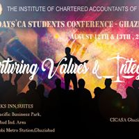 Two Days CA Students Conference- Ghaziabad 2017