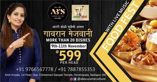 Abs Aagri Koli Food Fest