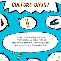 Culture Days Create Your Own 8x8 Artwork