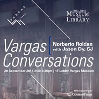 Vargas Conversations Norberto Roldan with Jason Dy SJ
