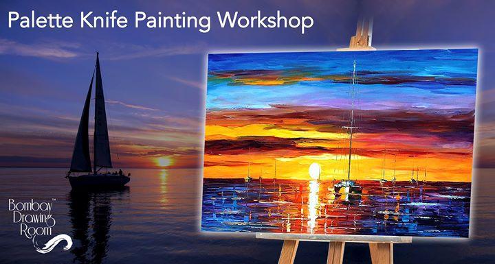 Palette Knife Painting Workshop - Andheri