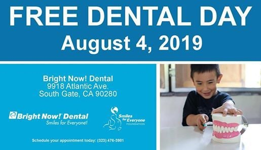 South Gate Day of Giving at Bright Now Dental, South Gate