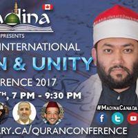 Toronto International Quran &amp Unity Conference