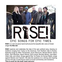 RISE International political songs for human rights