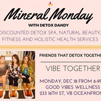 Mineral Monday - Dec 18 at Good Vibes Wellness