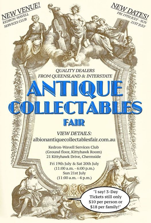 Albion antiques & collectables fair