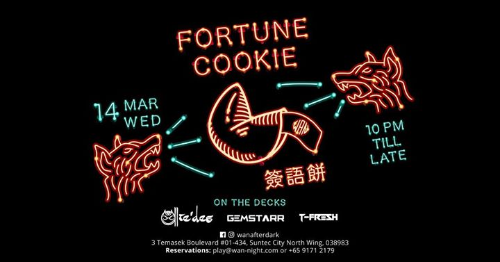 Fortune Cookie Wednesdays  14 Mar